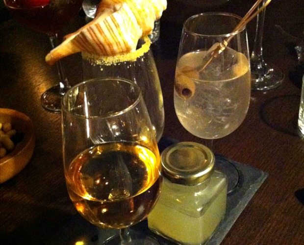 Μια τριλογία από tasting cocktail στο The Clumsies. Δεκέμβριος 2014.