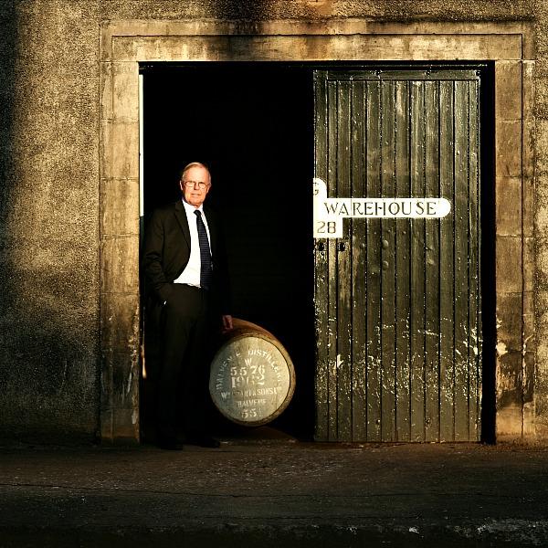 The Balvenie Malt Master David Stewart with cask 5576